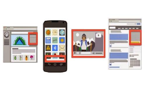מודעות מדיה של גוגל