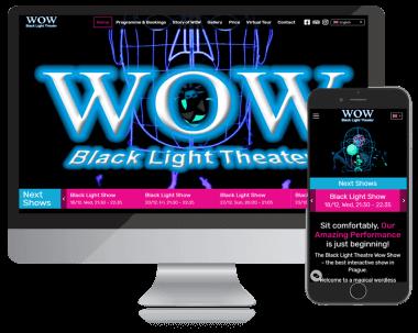 WOW show תאטרון שחור